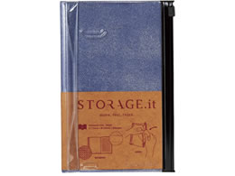 マークス Notebook S STORAGE.it Mobile ブルー STI-NB52-A