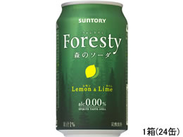 �T���g���[�t�[�Y Foresty(�t�H���X�e�B) �X�̃\�[�_ 350ml 24��