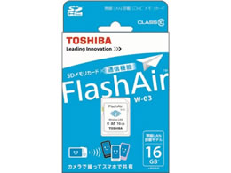 東芝 FlashAir SDHCメモリーカード 16GB SD-WE016G