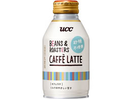 UCC BEANS & ROASTERS CAFFE LATTE �����s�g�p 260g