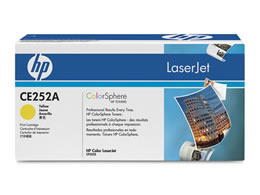 HP プリントカートリッジ CE252A イエロー CE252A