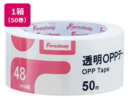 Forestway 透明OPPテープ 50巻 FRW638908
