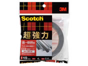 3M スコッチ 超強力両面テープ(金属・一般用)19mm*4m SKD-19