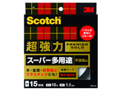 3M スコッチ 超強力両面テープスーパー多用途 15mm*10m PPS-15