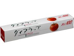 三菱ケミカル ダイアラップ業務用塩ビ小巻 30cm×100m