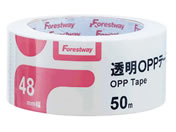 Forestway 透明OPPテープ 48mm×50m