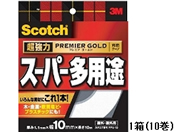 3M/スコッチ 超強力両面テープスーパー多用途 10mm×10m 10巻