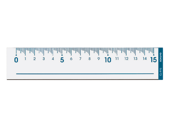コクヨ 直線定規 15cm CL-R15が93円【ココデカウ】